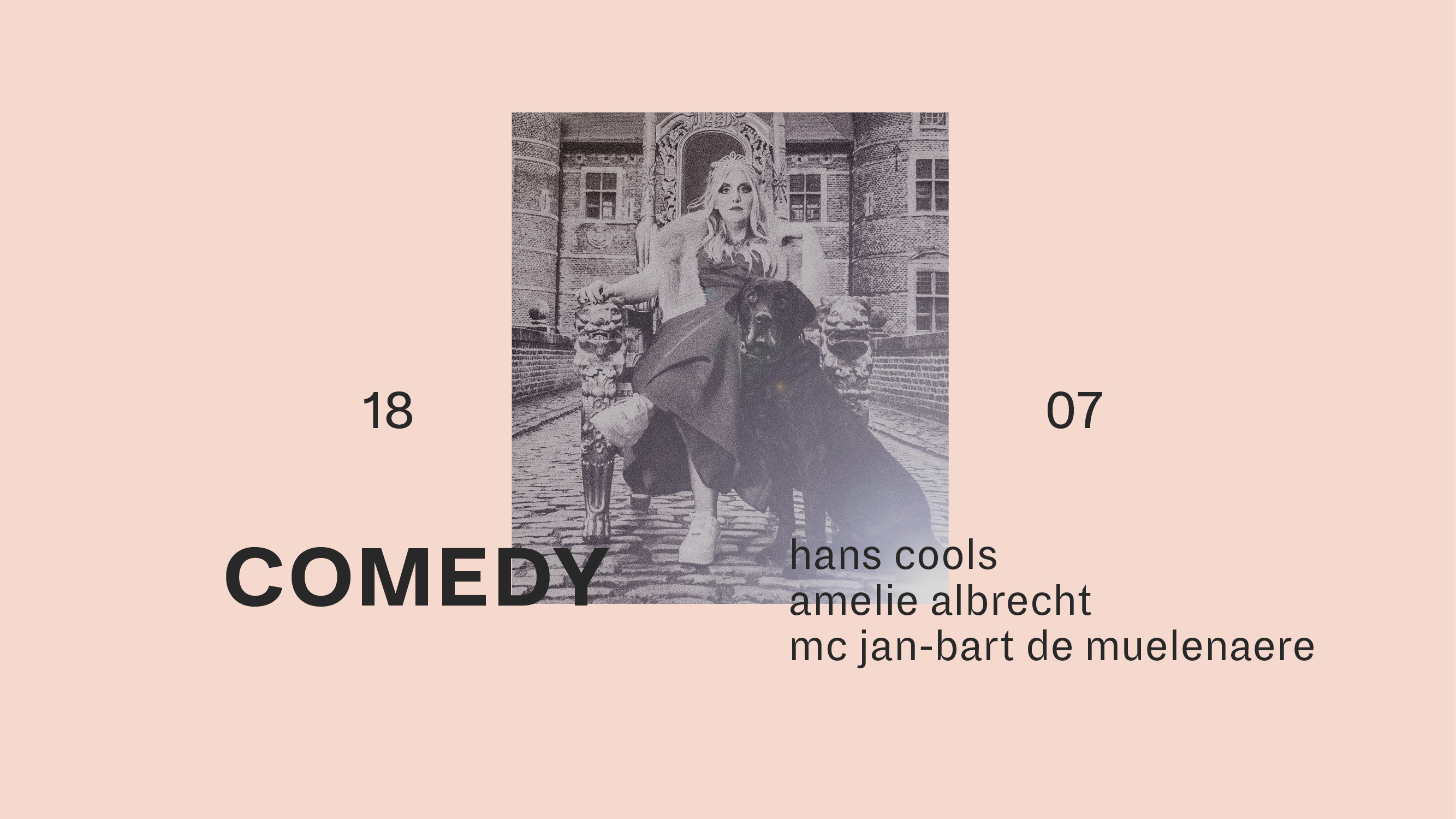 Comedy Night: Hans Cools + Amelie Albrecht